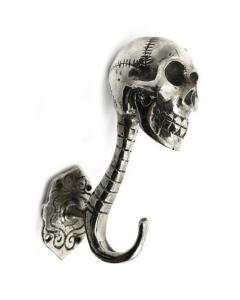 Döskalle Krok Silver 13cm