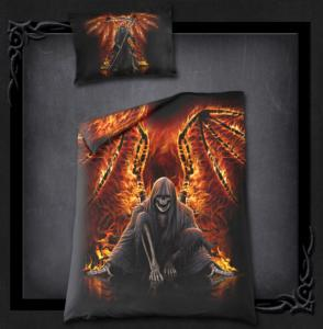 Bäddset, Flaming Death