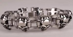 Armband Bikers Silver