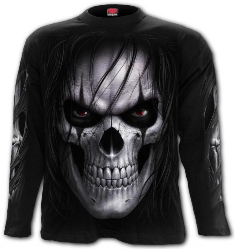 T-shirt Långärmad, Spiral, Night Stalker