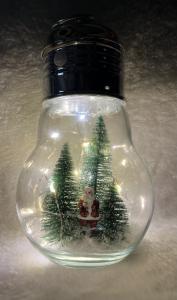 Juldekoration, Glödlampa