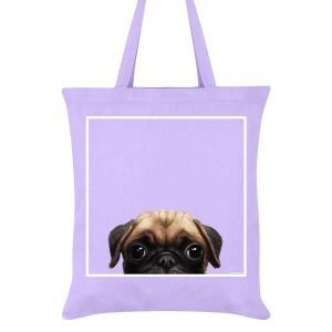 Tygväska/Shoppingbag, Pugs Mops