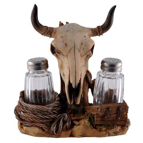 Salt och pepparställ, Horn