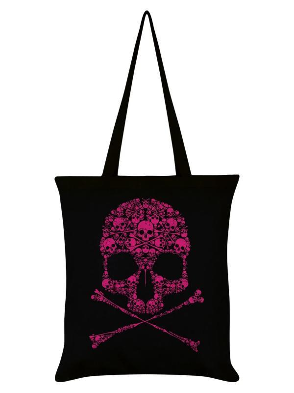 Tygväska/Shoppingbag, Drip Skull