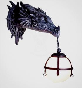 Drake lampa Design, Goth