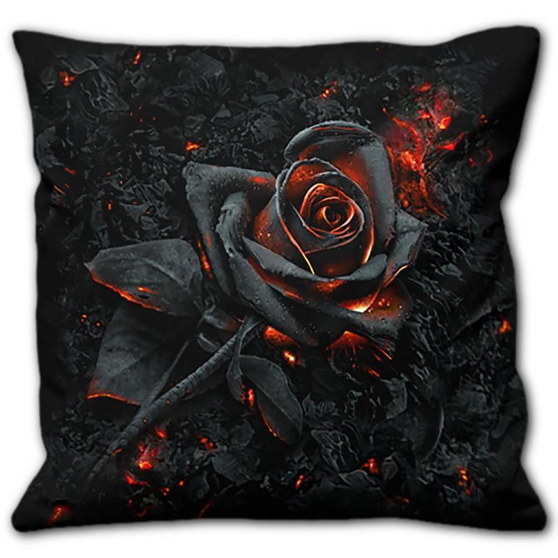 Kudde, Spiral, Burnt Rose