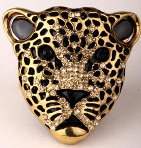 Leopard Ring Guld