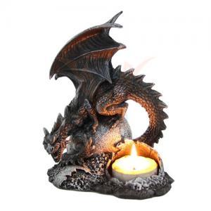 "Drake ljuslykta ""Dragon lair"""