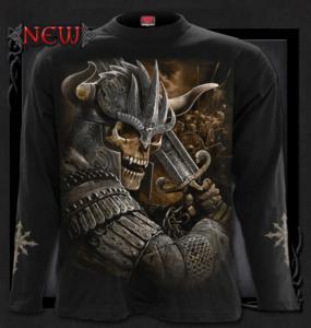 T-shirt, Långärmad, Spiral, Viking Warrior