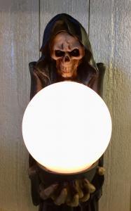 Döskalle lampa, Ståendes, 45cm