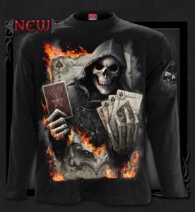 T-shirt, Långärmad ,Spiral, Ace Reaper