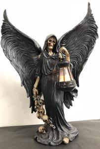 Reaper Dekoration med Ledlykta