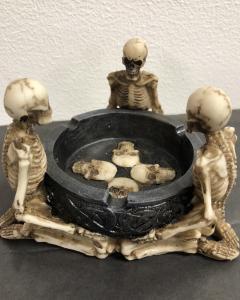 Askfat, 3 skelett