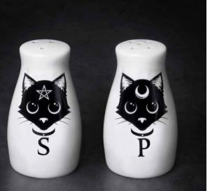 Salt och pepparkar, Cats