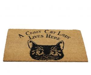 Dörrmatta, Katt, Crazy Cat Lady