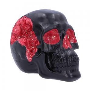Dekoration Döskalle Geode Skull Red