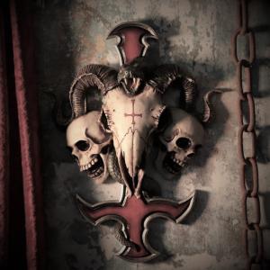 Väggdekoration, Devils Cross Wall Plaque
