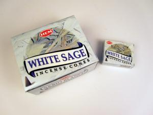Rökelsekoner, White Sage