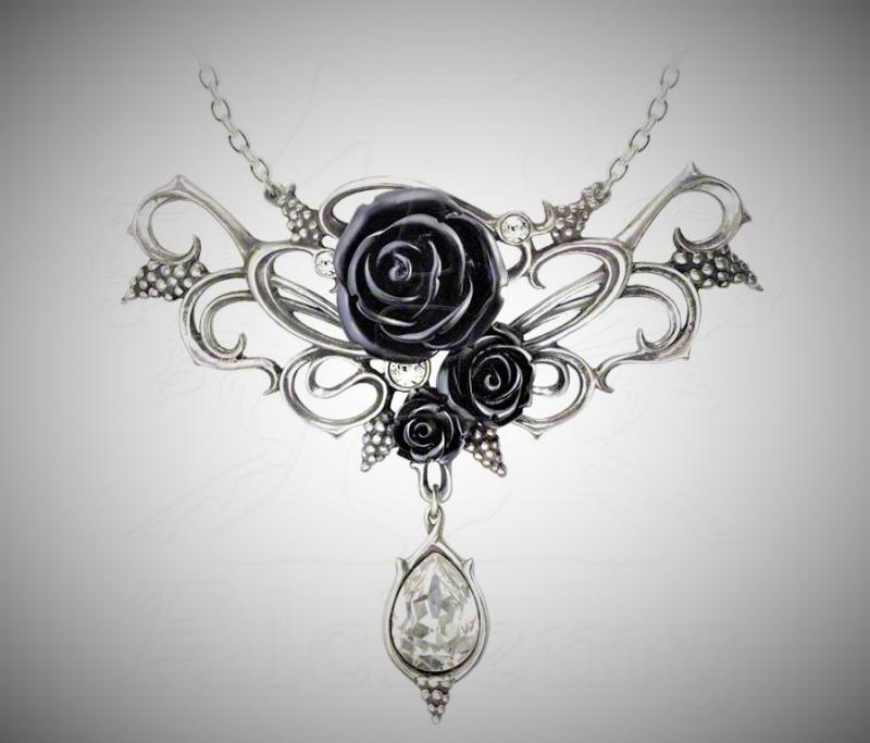 Designhalsband, Bacchanal Rose