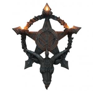 Väggljuslykta, Baphomet Pentagram