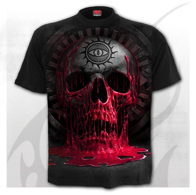 T-shirt, Spiral, BLEEDING SOULS