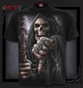 T-shirt, Spiral, Boss Reaper