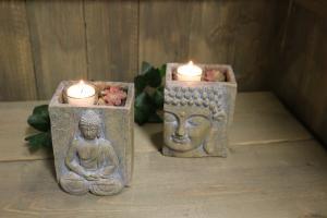 Buddha Ljushållare, 2 varianter