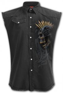 Rockskjorta, ärmlös, Black Gold