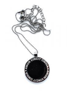 Halsband, Corinne Stee/Black 42 cm