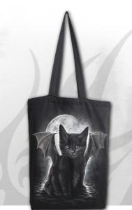 Tygpåse/Shoppingbag, Bat Cat