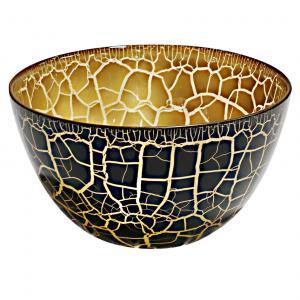Glasskål Croco