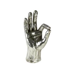 Dekoration Hand. OK Silver