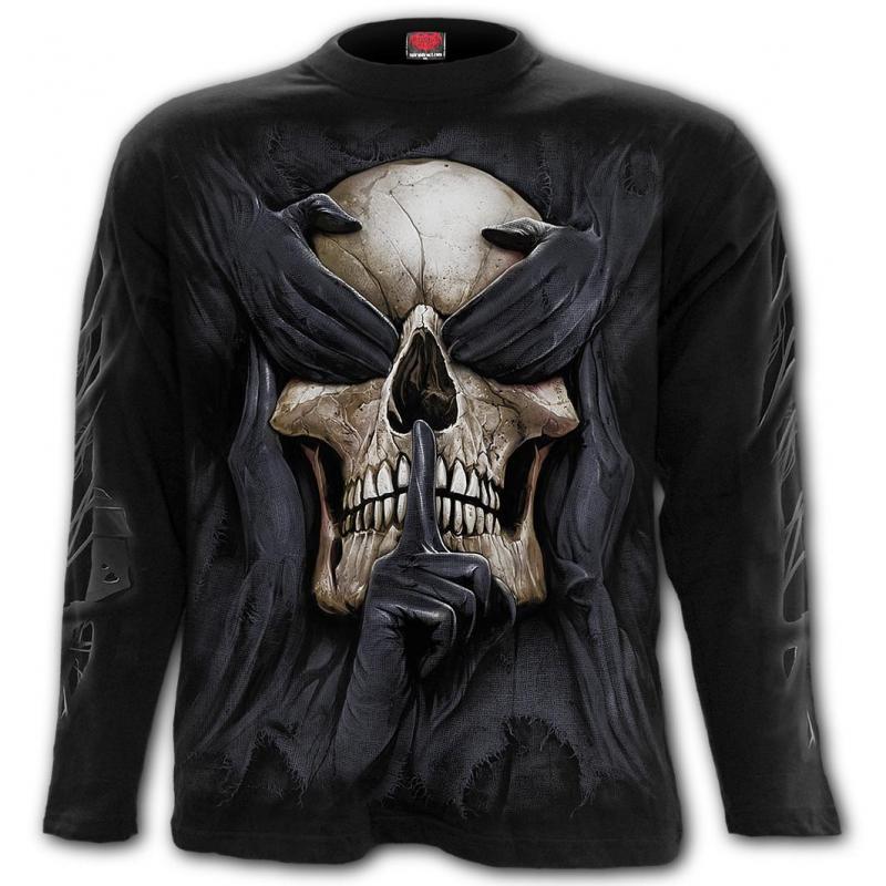 T-shirt, Långärmad, Spiral, See No Evil
