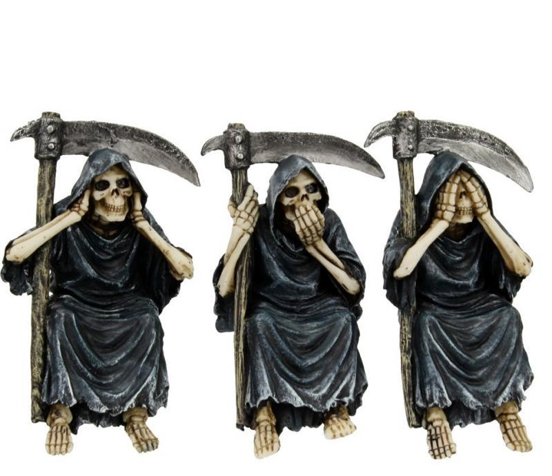 Dekorationer 3-pack, See no, hear no, speak no, Reapers