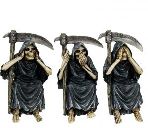 Dekorationer 3-pack, See no, hear no, speak no, Reapers