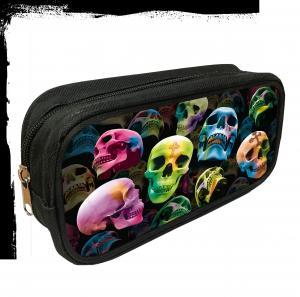 Pennfodral, Design i 3D, Skulls