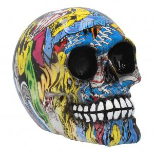Dekoration Design Skull, Graffiti Medium