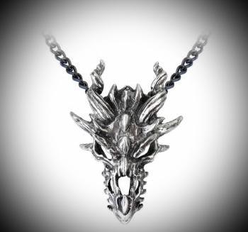 Design Halsband, Dragon Skull