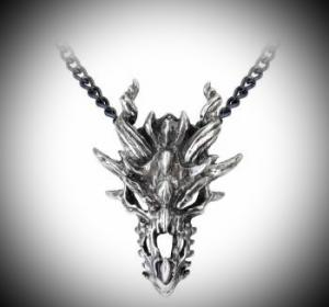 Design Halsband, Dragon Skull