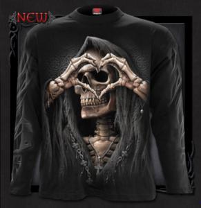 T-shirt, Långärmad, Spiral, Dark Love