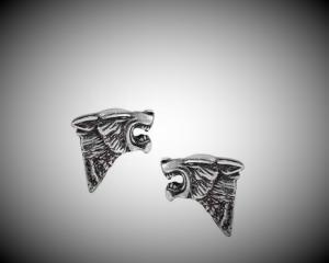 Design örhängen, Dark Wolf