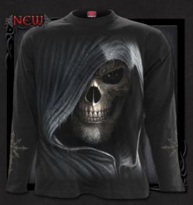 T-shirt, Långärmad , Spiral, Darkness