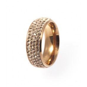 Ring Dash large rosegold