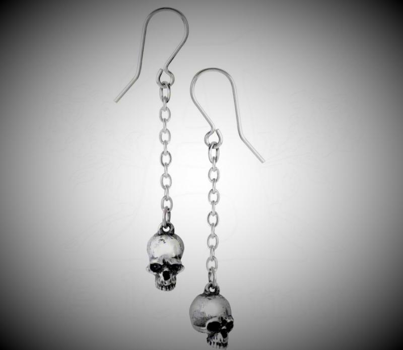 Design örhängen, Dead Skull