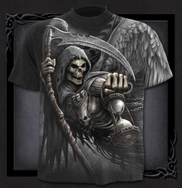 T-shirt, Spiral, Death Angel Wrap
