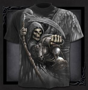 T-shirt, Spiral, Death Angel Wrap