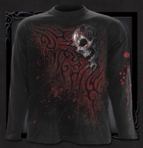 T-shirt Långärmad, Spiral, Death Blood