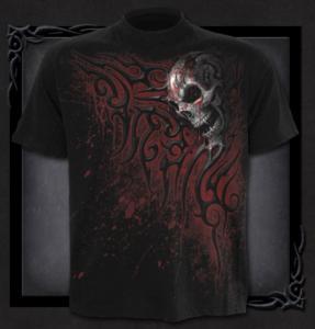 T-shirt, Spiral, Death Blood