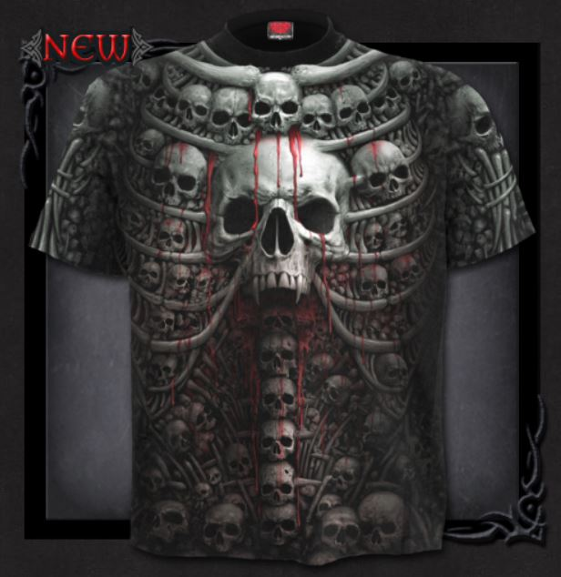 T-shirt, Spiral, Death Ribs, S-4XL