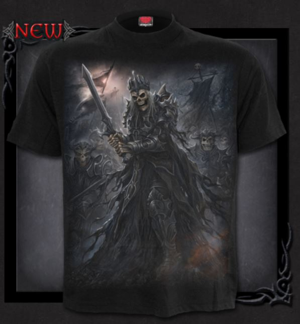 T-shirt, Spiral, Death´s Army